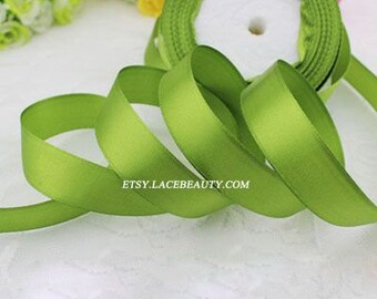 Green Ribbon Terylen Lace Trim 0.78 Inch Wide 22 meters