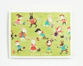 Easter Children Card 1pc