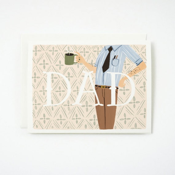 DAD Father's Day Card 1pc