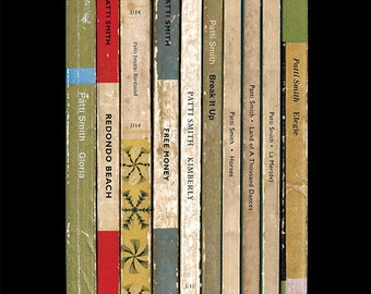 Patti Smith 'Horses' Album As Penguin Books Poster Print Literary Print