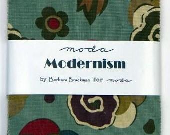 FLASH SALE Modernism Charm Pack by Barbara Brackman for Moda LAST One