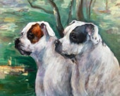 Dog Portrait Custom made to order portrait of your pet