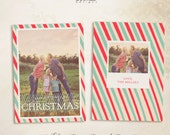 INSTANT DOWNLOAD - 2013 Christmas Card Templates vol.23 5x7 inch card template