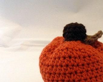 Pumpkins Amigurumi Fall Decor
