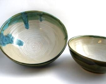 Set of bowls, Single serving bowls, dessert bowls, small serving bowls
