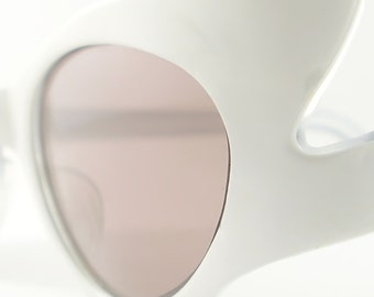Vintage  Cat Eye Glasses Eyeglasses Sunglasses Glasses New 50s Frame France Eyewear