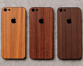 iPhone 5s Wooden Back Protector