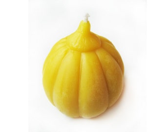 Pure Beeswax Small Pumpkin Candles
