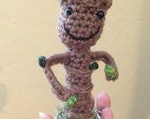 """Crochet Potted Tree Amigurumi """"Ray Ray Root"""" Small"""