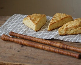 Biscuit Stick, Wood Stir Stick, Bakers Spoon, Summer Drink Stir Stick