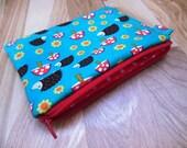 Hedgehogs small zipper/gadget holder/ accessory/coin pouch