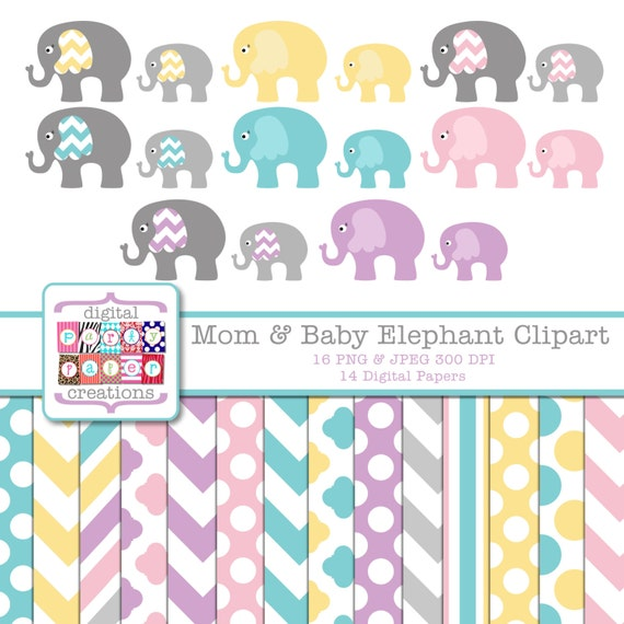 elephant watermark paper Elephant digital paper: pastel yellow & gray elephants papers pack of backgrounds and patterns   there will be no watermark on the downloaded files.