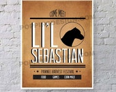 8X10 Parks And Recreation Lil Sebastian Poster