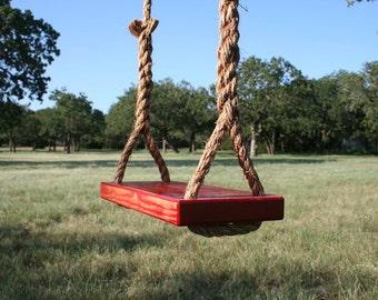Medium Red Tree Swing