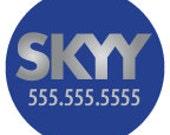 SKYY Custom Dog ID Tag