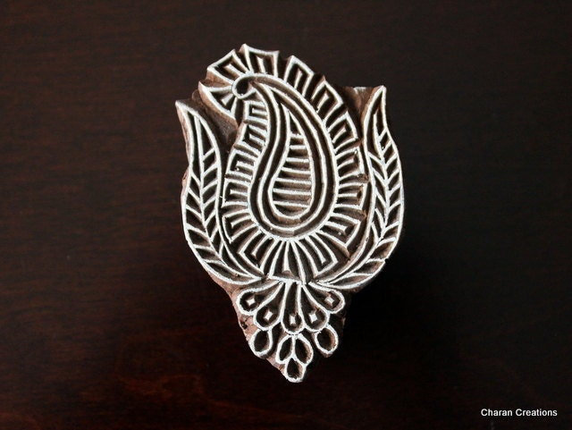 how to use wood carved stamps
