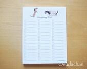 Dachshund Shopping List.Grocery List. by Sudachan