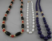 Set of 3 Vintage Necklaces!