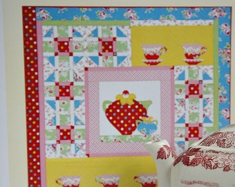 Tea Theme Quilt Pattern Sweet Tea