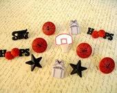Basketball Thumbtack, Basketball Push Pin, Basketball Notice Board Pins, Sport Thumbtack