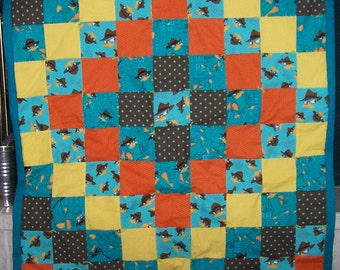 DOWN PAYMENT for Custom Perry the Platypus/Phineas and Ferb Quilt