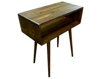 Mid Century Inspired End Table / Sofa Table - MADE TO ORDER