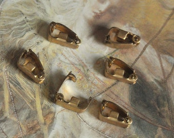 6 Vintage RARE Old Art Deco Bracelet Necklace Clasps