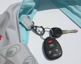 ADDON a key ring lobster hook to any BAG purchase. Hobo Bags. BackPacks.