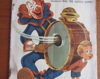 Bozo the Clown Dell Comic No. 551, 1954