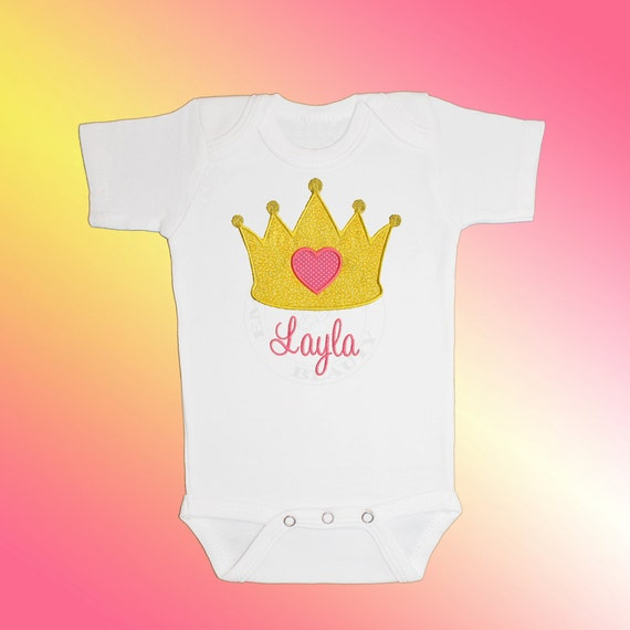 Items similar to Bodysuit Baby Clothes Personalized