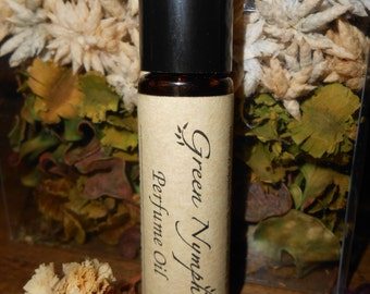 Perfume Oil - The MIDDLE WORLD Collection by Green Nymph - 10 ml (1/3 oz) Roll-On - Hand Crafted - Choose from 13 Magical, Fantasy Scents