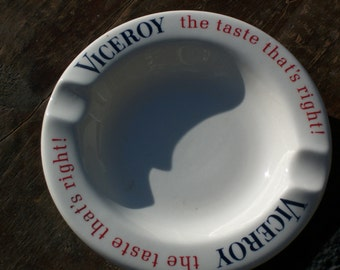 vintage Viceroy ashtray by Brown & Williamson Tobacco