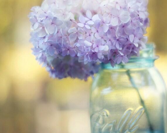 mason jar hydrangeas etsy