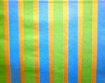 Vintage Wrapping Paper - Statement Stripes - Oversized Full Sheet Gift Wrap - Artcrest