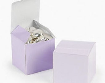 Lavender Favor boxes-12 EA.