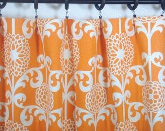 Waverly Fun Floret Curtains Waverly Kitchen Valance Waverly Curtains 52x12 52x14 52x16  52x18