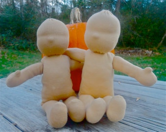 13 inch waldorf doll body blank all natural