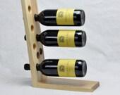 Custom Stained Wine Rack