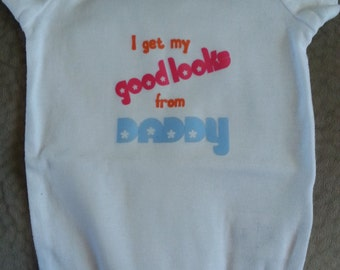 Funny Baby Girl Onesie - 9 Months