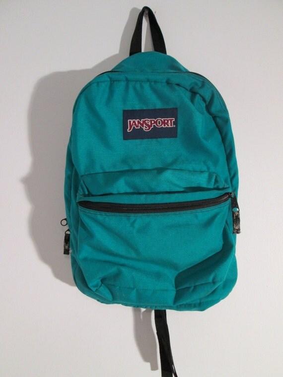 Blue Green Jansport Backpack | Crazy Backpacks