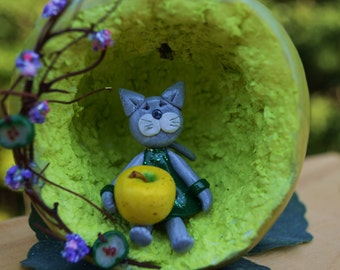 Down in the Garden: Green apple