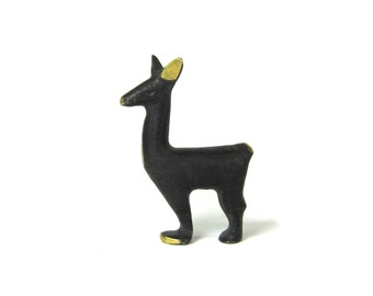 Vintage ORIGINAL Walter Bosse Modernist Austrian Llama Figurine