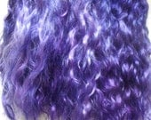 Mohair Purple doll hair