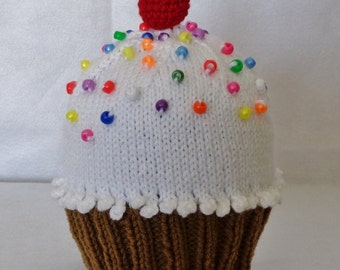 Cupcake Hat Toddler to Child's size
