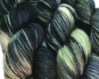 sock yarn Lord of the Rings MINAS TIRITH hand dyed sw merino wool nylon