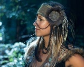 Custom Feather Headdress (MADE TO ORDER)