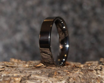 Tungsten ring - Size 7 - comfort fit - only 1,5 mm thick !