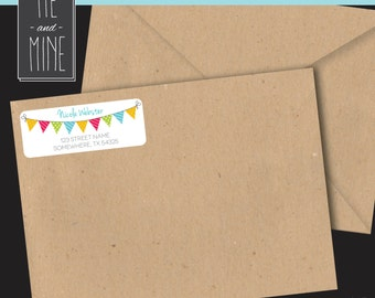 Birthday Address Labels