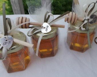 Honey Favors,  Elegant Party Favors, 15 favors