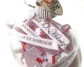 Personalized Keepsake And Box Using Your Wedding Invitation, Announcement Or Personal Message.  Featured On NM Weddings.